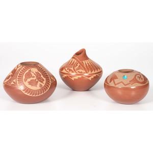 San Ildefonso and Jemez Sgraffito Pottery