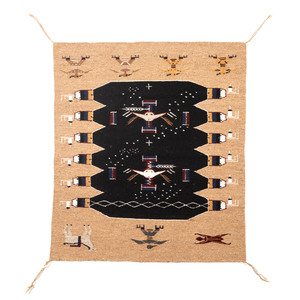 Navajo Pictorial Weaving / Rug