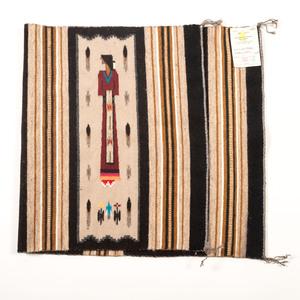 Ursula Begay (Dine, 20th century) Pictorial Weaving / Rug