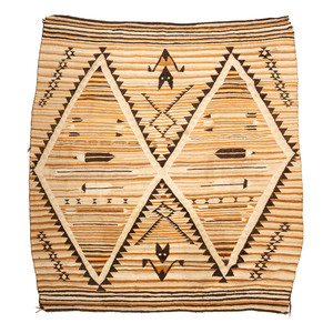 Navajo Regional Weaving / Rug, with Bats