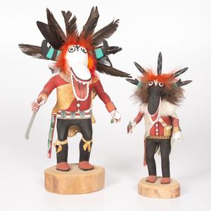 Roxie Pela (Hopi, 20th century) Ogre Katsinas