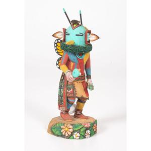 Neil David Sr. (Hopi, b. 1944) Butterfly Man Katsina