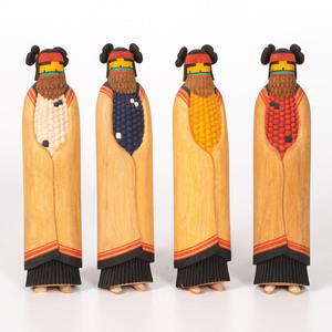 Glenn Fred (Hopi, 20th century)  Mana  Katsinas