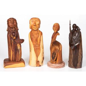Harry Benally (Dine, 20th century) Wood Sculpture