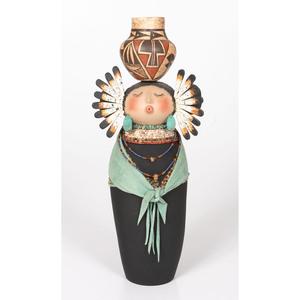 Robert Rivera (Apache/ Spanish/ French, 20th century) Gourd Maiden