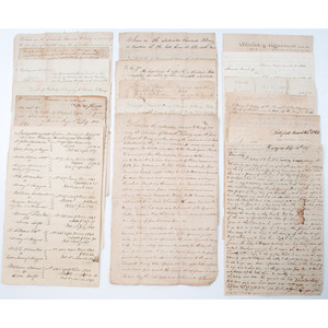 Early Pennsylvania Documents, Incl. Mining Interest and Reference to Enslaved People