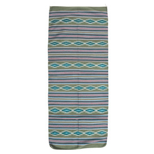 Marie Begay (Dine, 20th Century) Colorful Wide Ruins Runner / Weaving