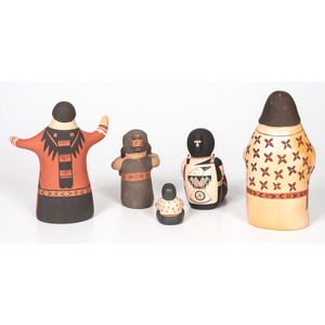 Collection of Pueblo Singers and Storytellers