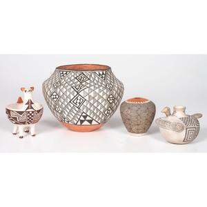 Acoma and Laguna Pottery