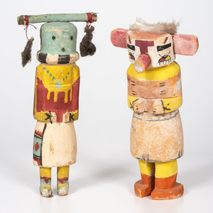 A Pair of Hopi Katsinas