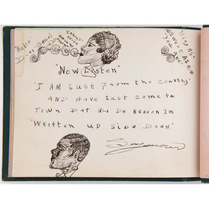 Tuskegee Institute Autograph Album, 1930s, Plus