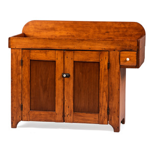 A Primitive Pine Dry Sink