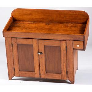 A Primitive Pine Dry Sink
