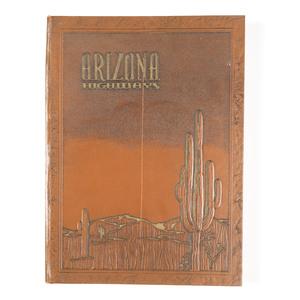 Bound Volume of Arizona Highways Magazine