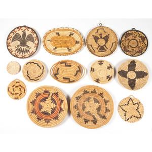 Tohono O'odham, Hopi, and Navajo Baskets