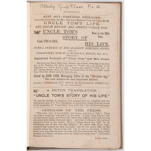 Aunt Sally's Policy-Players' Dream Book and Wheel of Fortune and Other 19th Century Works