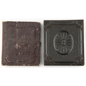Three Daguerreotypes Attributed to Southworth & Hawes, Incl. Half Plate Family Portrait