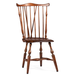 A Braceback Windsor Chair