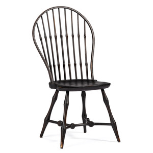 A Wallace Nutting Sackback Windsor Chair