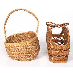 Thompson River and Chehalis Sewing Baskets