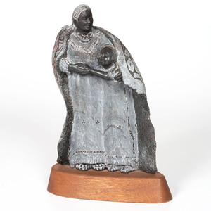 Sculpture of a Mother and Child