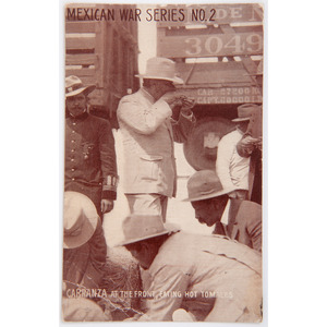 Mexican Revolution Post Cards from CMOH Recipient Samuel Woodfill