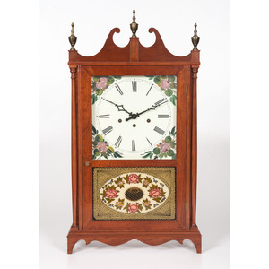 A Federal Style Mantel Clock by Berkley M. Campbell