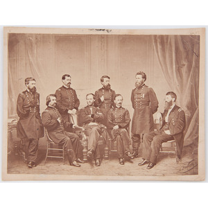 General W.T. Sherman and Staff Photograph