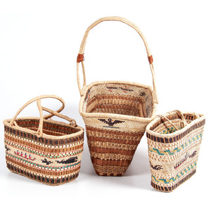 Nuu-chah-nulth / Makah Picnic Baskets, From the Stanley B. Slocum Collection, Minnesota