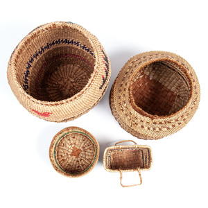 Nuu-chah-nulth / Makah Baskets, From the Stanley B. Slocum Collection, Minnesota