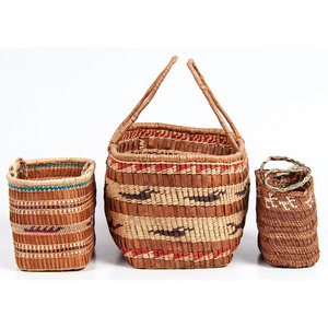 Quinault and Hoh Sewing Baskets, From the Stanley B. Slocum Collection, Minnesota
