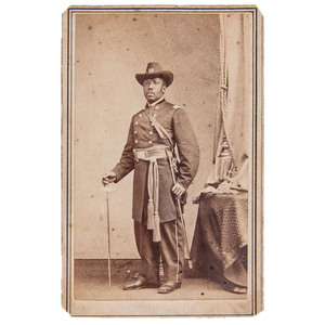 Major Martin Delany CDV, circa 1864