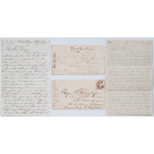 Collection of Letters to George Dunham, USN