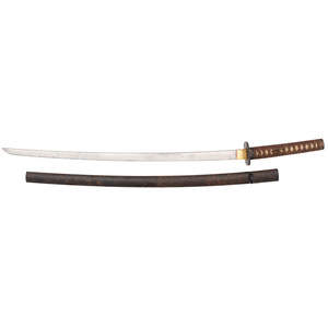 A Shinto Japanese Samurai Sword (Katana) Spuriously Signed Tadahiro