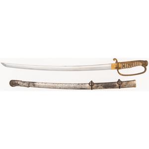Japanese Samurai Sword (Wakizashi) Signed Kiyomitsu ca.1550