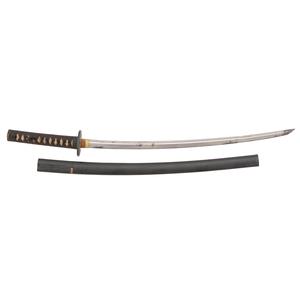 A Finely Mounted Koto Japanese Samurai Sword (Chisa Katana)