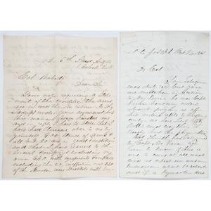 Civil War Archive of Col. Everett Peabody, Missouri 25th Infantry, KIA Shiloh