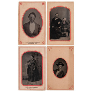 Tintypes of African Americans from Identified Midwestern Photographers