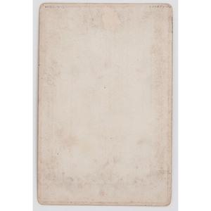 Ninth Cavalry Buffalo Soldier Cabinet Card, Lander, Wyoming, ca 1891