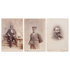 Cabinet Cards of Yale Staff by Pach Brothers, New Haven, circa 1881