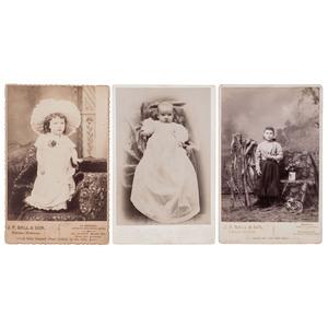 J.P. Ball Cabinet Cards, Helena & Seattle, circa 1888-1902