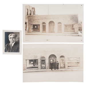 James T. Phillips, First African American Lawyer in Pasadena, California, Photograph and Real Photo Postcards, 1923