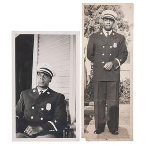 John Wilson Prayer, African American Fireman, Los Angeles, Snapshots