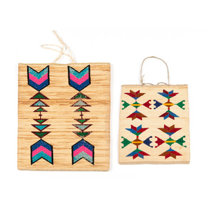 Nez Perce Corn Husk Flat Bags