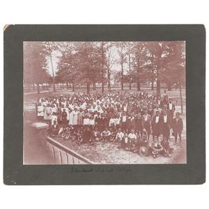 Students, Bishop College, Marshall, Texas, circa 1900