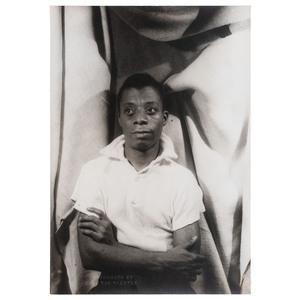 James Baldwin Portrait by Carl Van Vechten, 1955