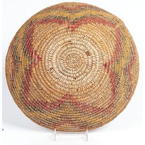 Colorful Jicarilla Apache Basket