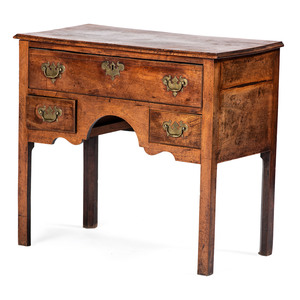 A George III Mahogany Dressing Table