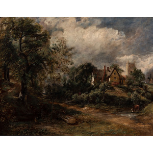 A Cottage Scene, The Glebe Farm, After John Constable
