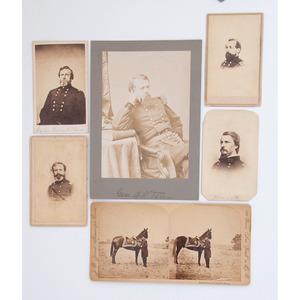 Civil War Photographs of Generals Grant,Terry, Hancock, Thomas, Hays, J. Reno